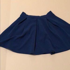 Dresses & Skirts - Blue Skater Skirt
